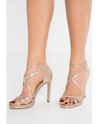 New Look | Metallic Sabrina Sandals | Lyst