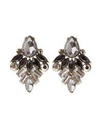 ONLY | Black Onlviktoria Earrings | Lyst