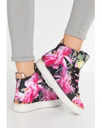 Ted Baker | Black Vleil High-top Trainers | Lyst