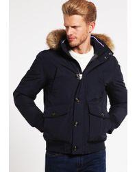 Tommy Hilfiger   Blue Hampton Down Jacket for Men   Lyst
