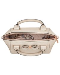 Ted Baker - Natural Core Bow Small Tote - Lyst