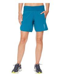"""Brooks - Blue Chaser 7"""" Shorts for Men - Lyst"""