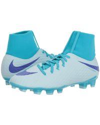 Nike - Hypervenom Phantom 3 Academy Dynamic Fit Fg (glacier Blue/perisian Violet/gamma Blue) Men's Soccer Shoes for Men - Lyst