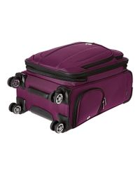 Delsey - Purple Helium Cruise Carry-on Expandable Spinner Trolley - Lyst