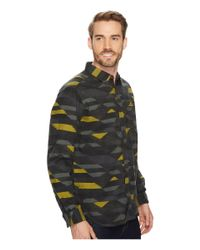 Columbia - Green Boulder Ridge Printed Long Sleeve Shirt for Men - Lyst