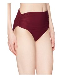 Vince Camuto - Red Shore Shades Convertible High-waist Bikini Bottom (palm) Women's Swimwear - Lyst