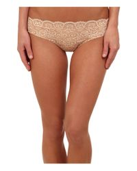 Commando - White Double Take Lace Thong Lt14 (ivory) Women's Underwear - Lyst