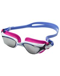 Speedo - White Mdr 2.4 Mirrored Goggle - Lyst