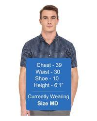 7 Diamonds - Blue Boomerang Top for Men - Lyst