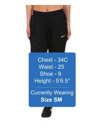 Nike   Black Academy Knit Soccer Pant for Men   Lyst