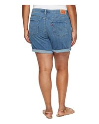 Levi's - Blue Levi's(r) Plus New Shorts (ocean Stroll) Women's Shorts - Lyst