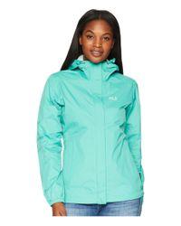 Jack Wolfskin Cloudburst Jacket (midnight Blue) Women's Coat