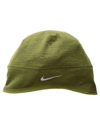707ad53c6a6 Lyst - Nike Perf Beanie Plus (olive Canvas Heather) Beanies in Green ...