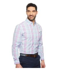 Vineyard Vines - Blue New Providence Plaid Classic Tucker Shirt (sea Urchin) Men's Clothing for Men - Lyst