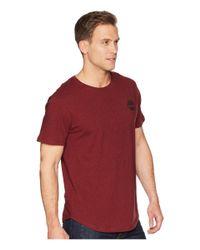 Timberland - Red Short Sleeve Back Graphic Tee (medium Grey Heather) Men's T Shirt for Men - Lyst