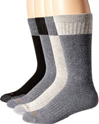 Carhartt - Black Comfort And Durability Crew Socks 4-pack for Men - Lyst