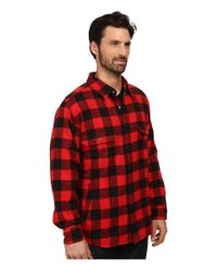 Woolrich - Oxbow Bend Shirt Jacket (old Red Buffalo) Men's Coat for Men - Lyst