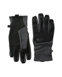 The North Face - Gray Canyonwall Etip Gloves - Lyst