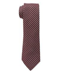Lauren by Ralph Lauren - Red Small Gingham Check Tie for Men - Lyst