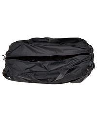The North Face - Black Packable Flyweight Duffel (asphalt Grey) Duffel Bags for Men - Lyst