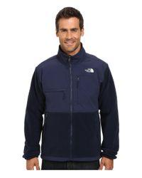 The North Face   Blue Denali Jacket for Men   Lyst