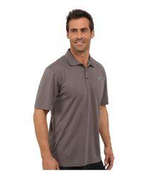 Ariat - Gray Tek Polo for Men - Lyst