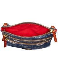 Dooney & Bourke | Blue Mlb North/south Triple Zip Crossbody Bag | Lyst