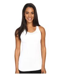 Lolë - White Central Tank Top - Lyst