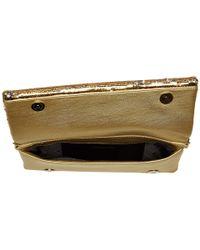 Love Moschino - Metallic Sequin Evening Bag (gold) Shoulder Handbags - Lyst