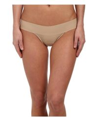Hanky Panky | Brown Bare® Eve Natural Rise Thong | Lyst