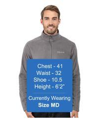 Marmot - Gray Rocklin 1/2 Zip for Men - Lyst