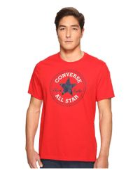 Converse | Red Core Chuck Patch Tee for Men | Lyst