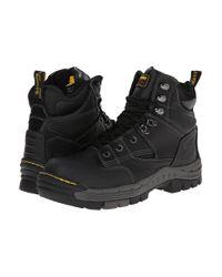 Dr. Martens | Black Isambard 8-tie St Waterproof Boot for Men | Lyst