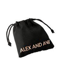 ALEX AND ANI - Metallic Starfish Charm Bangle - Lyst