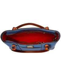 Dooney & Bourke - Blue Pebble Leather New Colors Small Lexington Shopper - Lyst