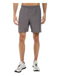 "Under Armour | Gray Ua Launch 7"" Woven Short for Men 