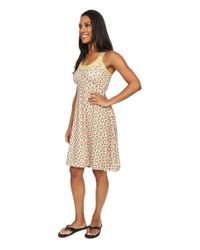 Prana - Yellow Cali Dress - Lyst