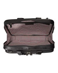 Johnston & Murphy - Black Slimline Briefcase for Men - Lyst