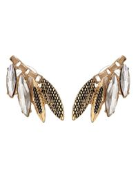 Sam Edelman | Metallic Rodeo Show Navette Cluster Stud Earring | Lyst