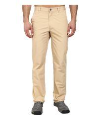 Mountain Khakis | Natural Slim Fit Poplin Pant for Men | Lyst