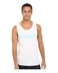 Hurley - Orange One & Only Tri-blend Tank for Men - Lyst