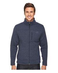 The North Face - Blue Gordon Lyons Full Zip Fleece for Men - Lyst