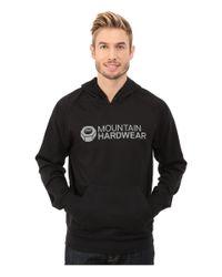 Mountain Hardwear | Black Logo Graphic Pullover Hoodie for Men | Lyst