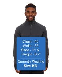 Brooks | Gray Drift 1/2 Zip for Men | Lyst