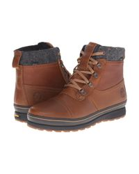 Timberland Brown Heritage 6-inch Washed Leather Boots for men