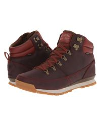 The North Face | Purple Back-to-berkeley Redux Leather for Men | Lyst