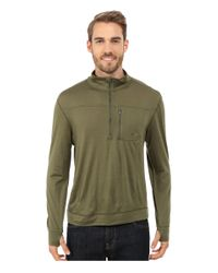 Mountain Khakis - Natural Rendezvous Micro Qtr Zip Shirt for Men - Lyst