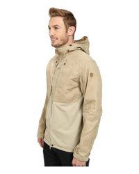 Fjallraven - Natural Abisko Lite Jacket for Men - Lyst