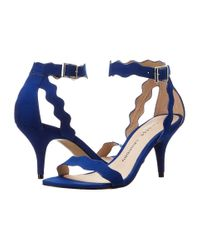 Chinese Laundry | Blue Rubie Scalloped Sandal | Lyst