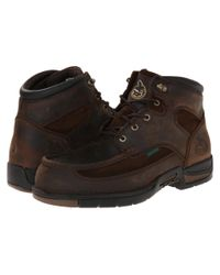 """Georgia Boot   Brown Athens 6"""" Moc Toe Lace Up for Men   Lyst"""